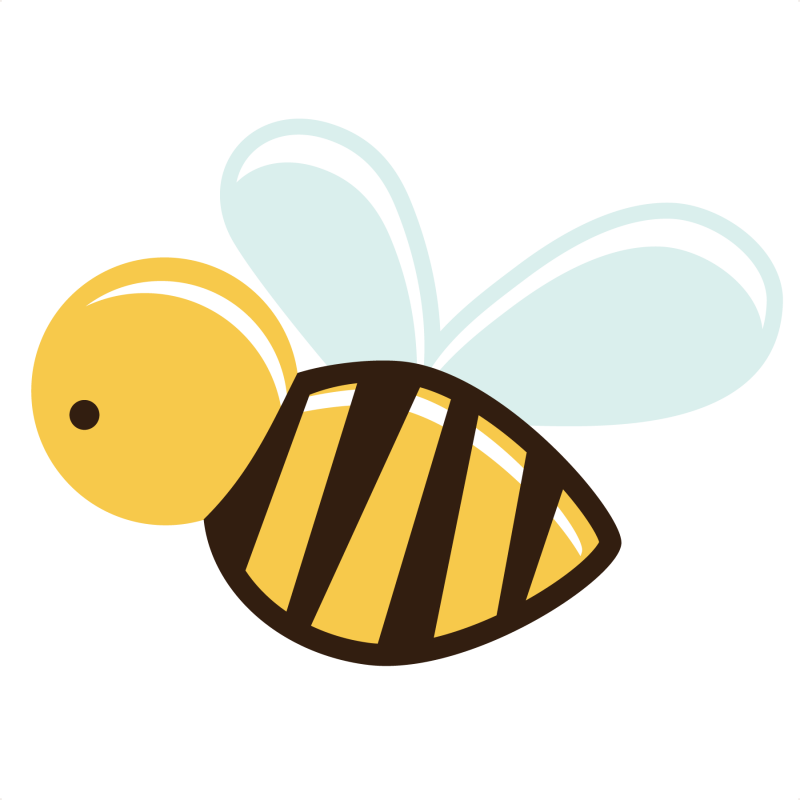 Bee clip art clear background. Png images transparent free