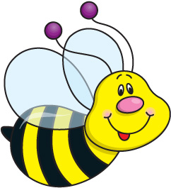 Bee clip art cute. Clipart free for clipartwiz