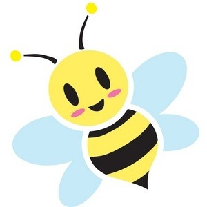 Bee clip art cute. Stunning design honey hoard