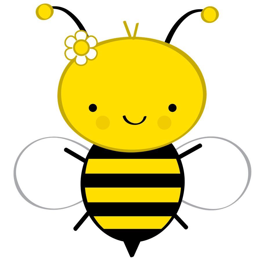 Bee clip art honey bee. Abelhinhas minus x l