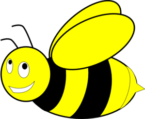 Bee clip art honey bee. Clipart