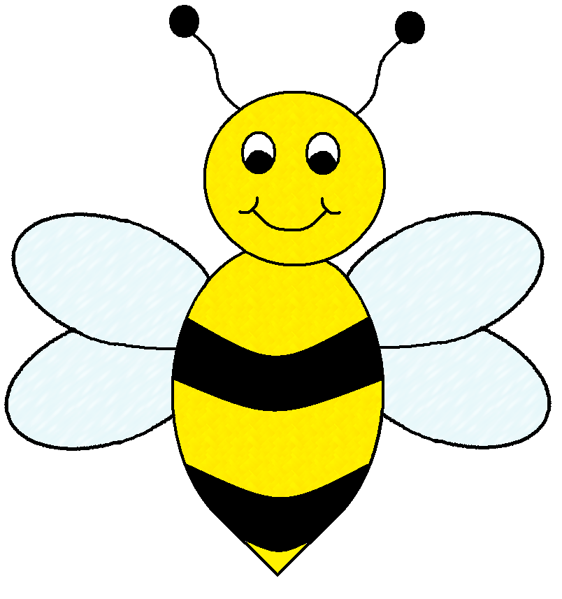 Bumblebee clipart. Honey bee clip art