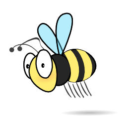 Bee clip art lebah. Free to use public