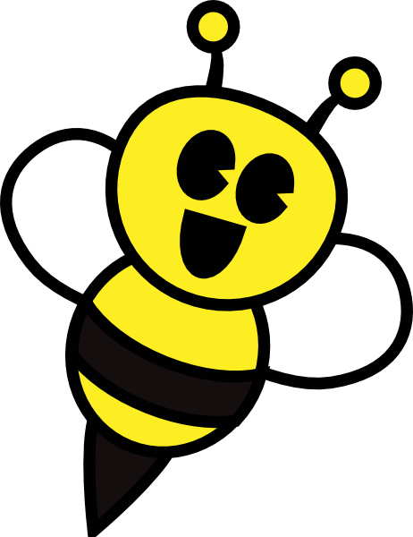 Bumblebee clipart. Free cute bumble bee