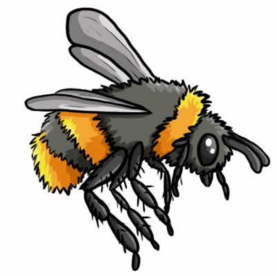 Clipart pencil and in. Bee clip art realistic clip art freeuse