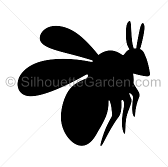 Bee clip art silhouette. Bumble download free versions