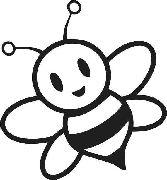 Bee clip art silhouette. Bumble at getdrawings com