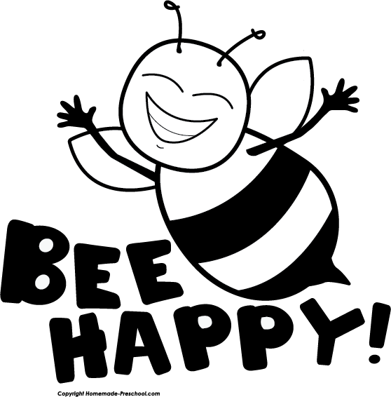 Bee clip art simple. Free clipart click to