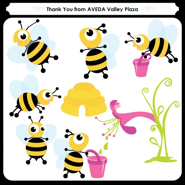 Bee clip art thank you. For those of participating