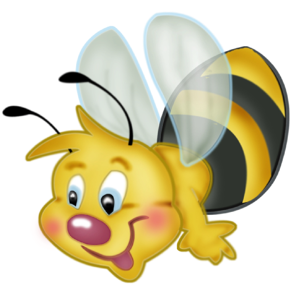 Valentine love honey bee. Bees transparent kid graphic freeuse download