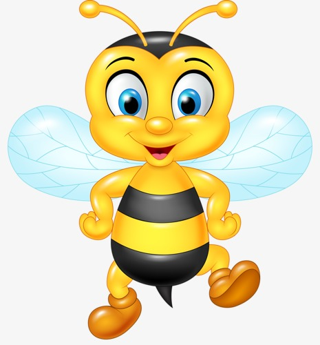 Bee clip art transparent background. Png images download resources