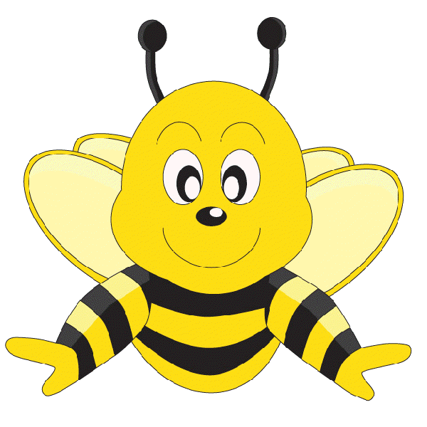 Honeycomb bee png. Funny cartoon valentine love clipart freeuse stock
