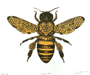 Bee clip art vintage. Bees clipart free images