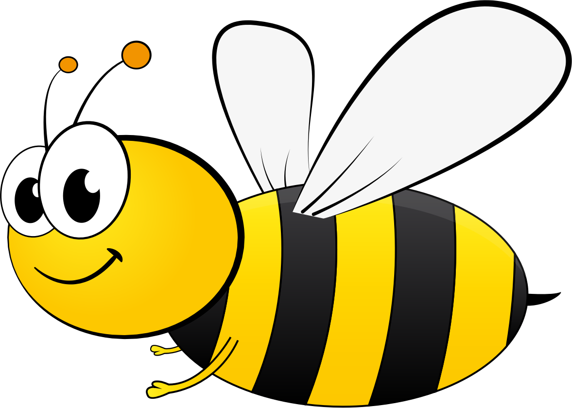Bee clipart. Cartoon backgrounds top wallpapers