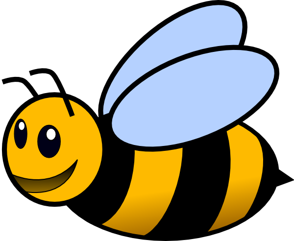 Bee clipart. Clip art at clker