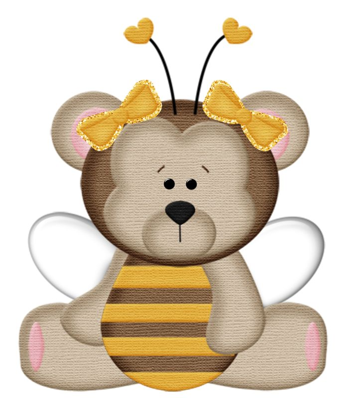 Bee clipart bear. The best bumble bees