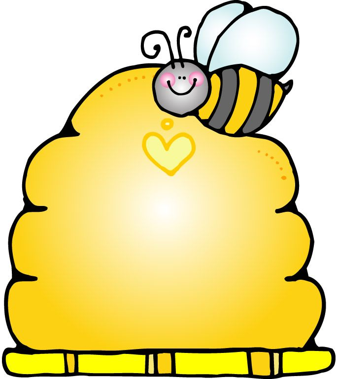 Beehive clipart beehive shape. Template best bee by