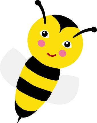 Bee clipart face. Clip art hoard honey