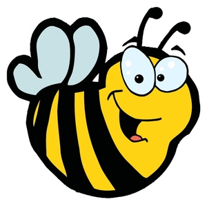 Bee clipart face. Bumble