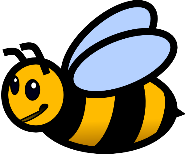 Cute bumble bee clip. Bees transparent kid picture transparent download