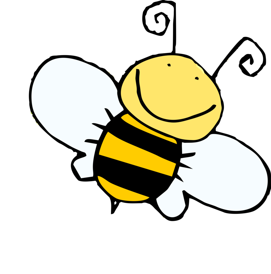 Bee drawing png. Honey abelha fun by