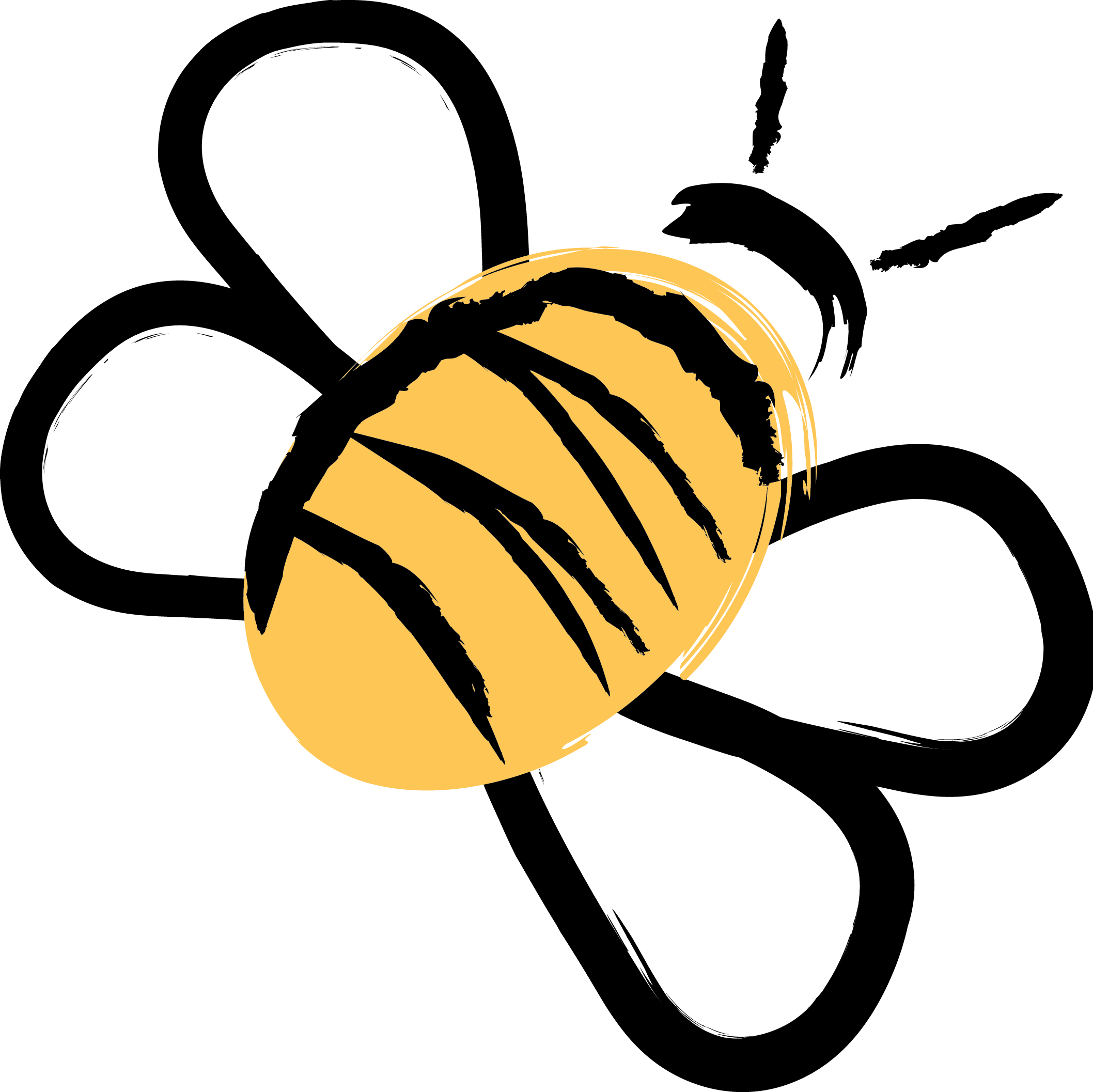 Bee drawing png. Tube twitter