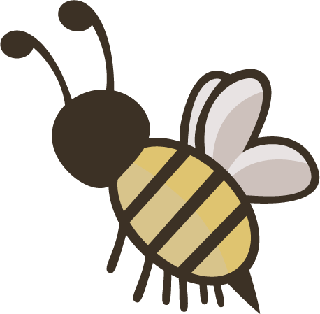 Bee Emoji Transparent & PNG Clipart Free Download - YA-webdesign