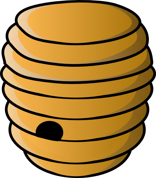 Bee hive png. Beehive clip art at