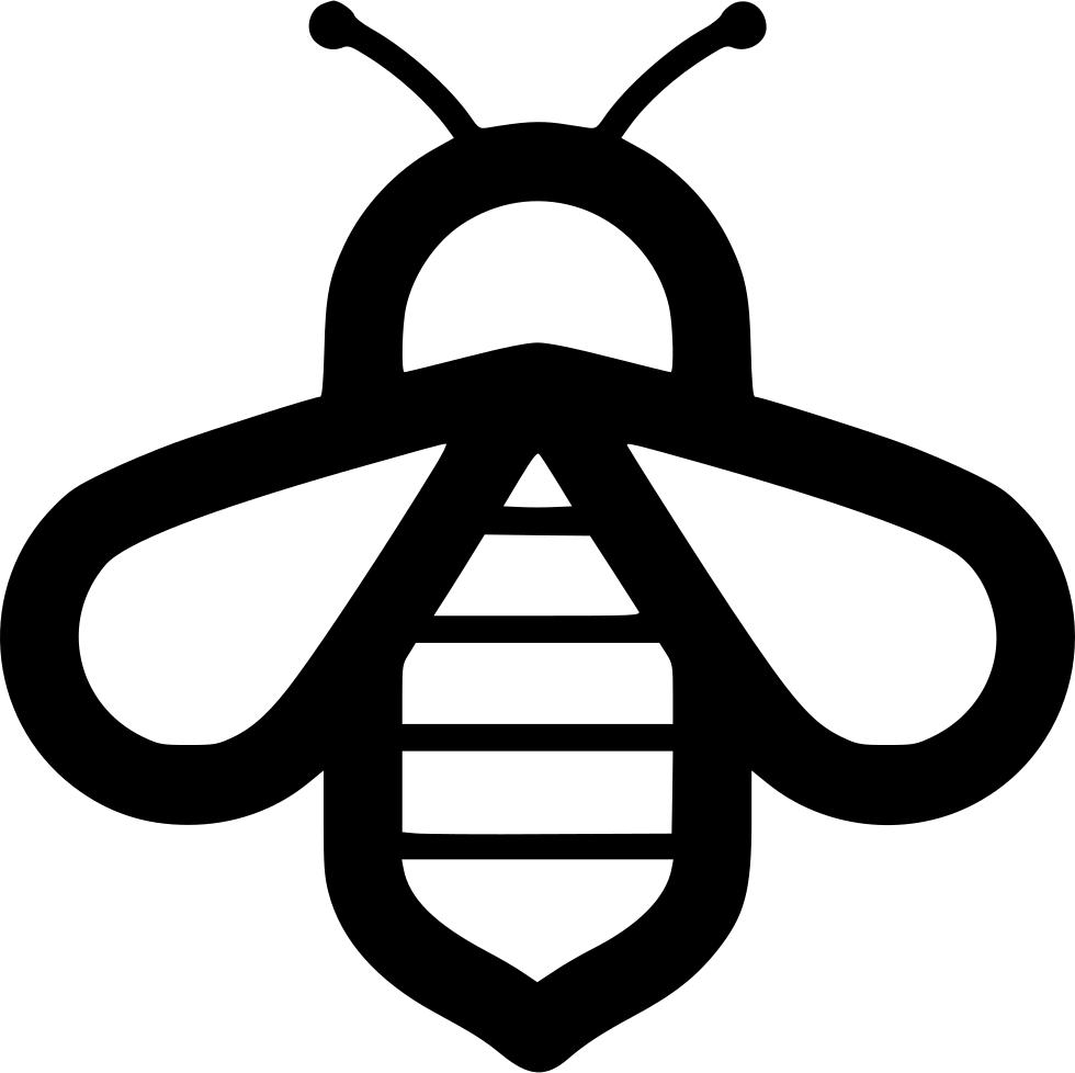 Bee icon png. Svg free download onlinewebfonts