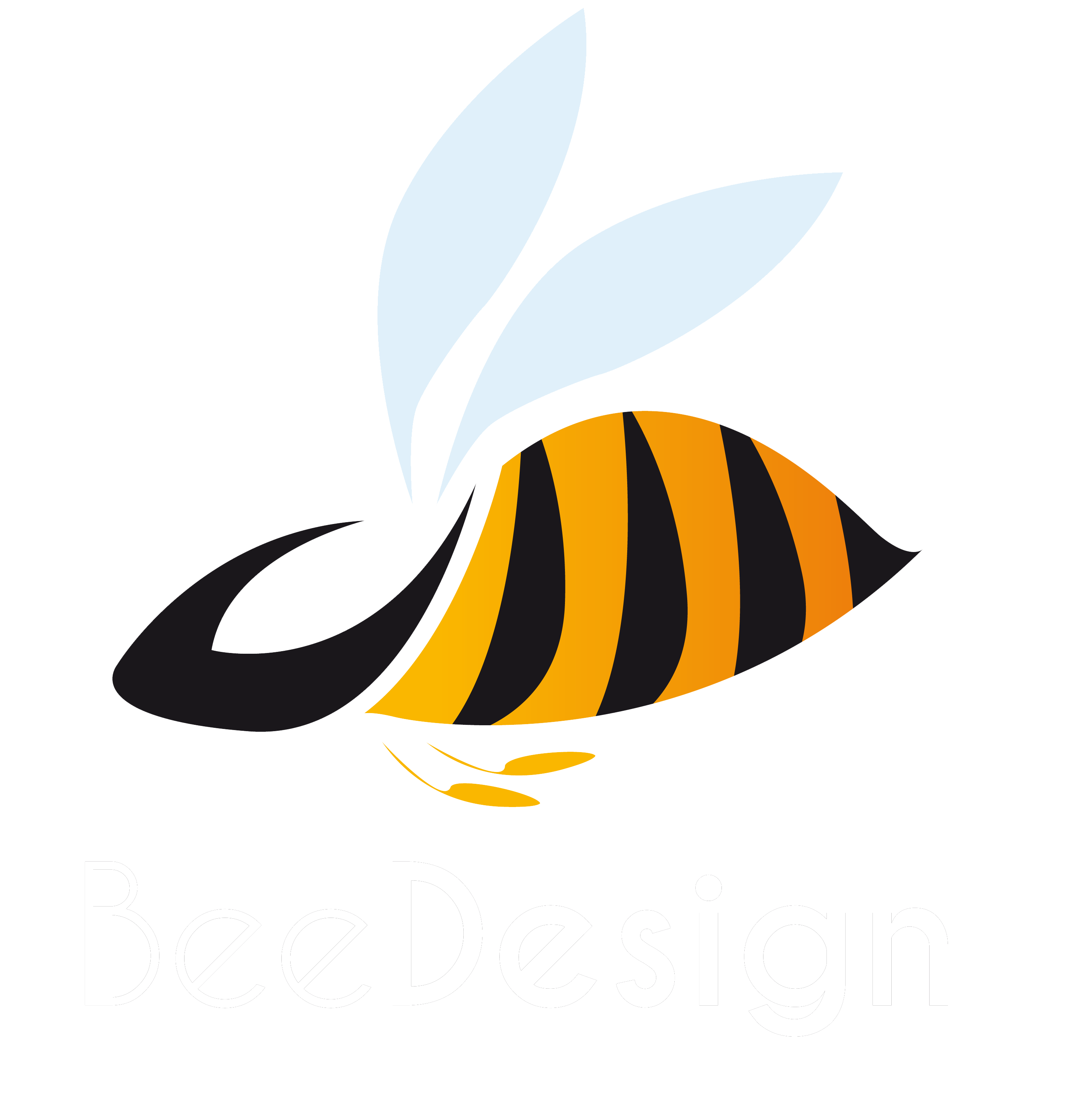 Bee logo png. Design bees pinterest and