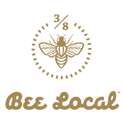 Bee logo png. Local