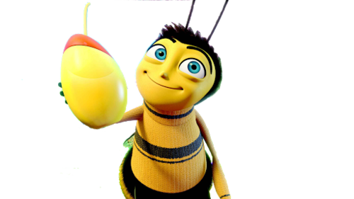 Bees transparent bee movie. Cakes image