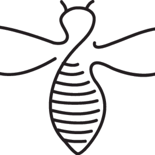 Bee outline png. Cropped meli pap croppedbeeoutlinepng