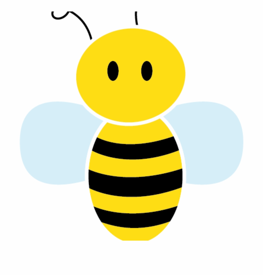 Bee tail. Cute clipart horse hatenylo