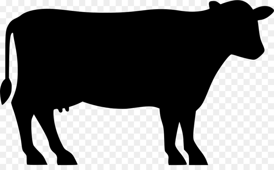 Beef clipart beef cattle. Cow silhouette at getdrawings