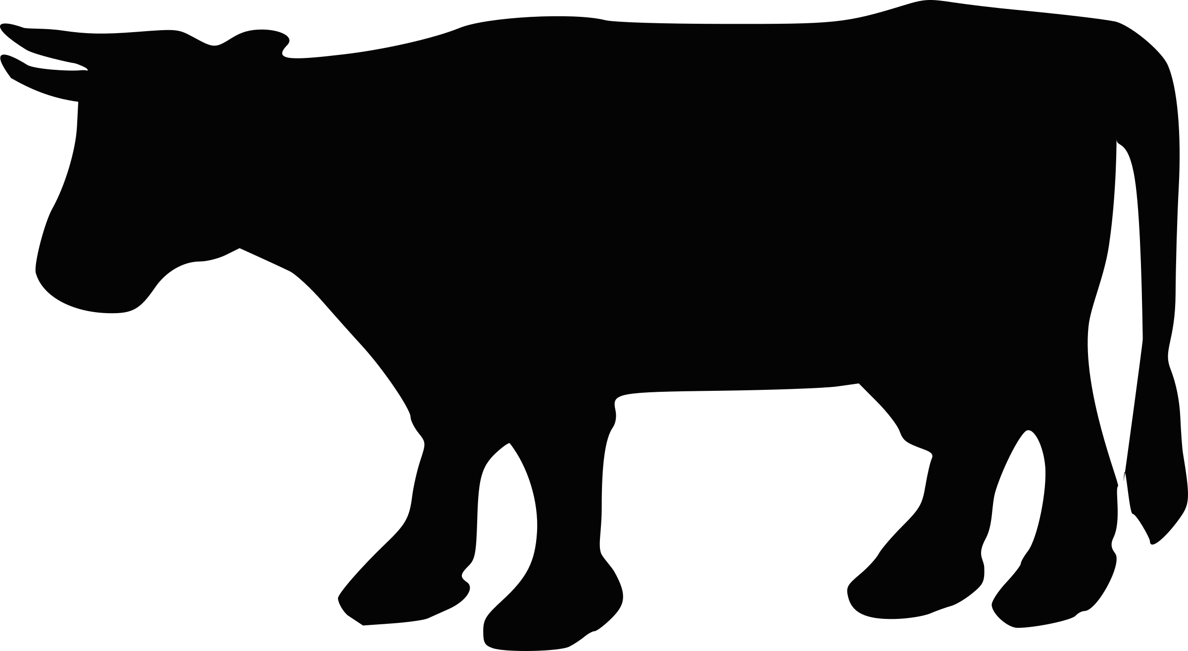 Beef vector cow outline. Calf silhouette at getdrawings