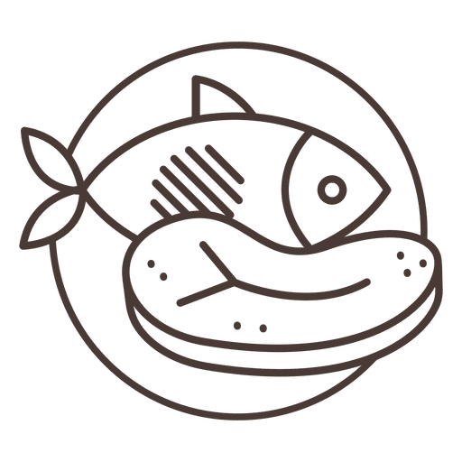 Beef vector fish meat. Icon transparent png svg