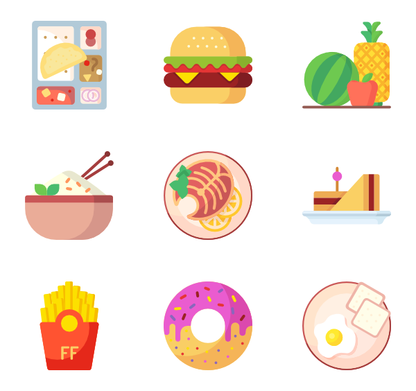 Beef vector minced meat. Icons free food