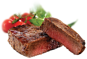 Beef vector red meat. The pros and cons
