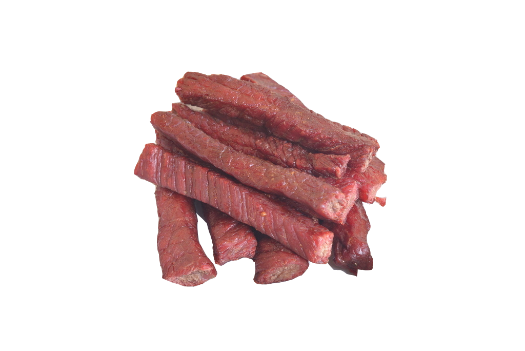 Beef vector red meat. Jerky venison strips transprent