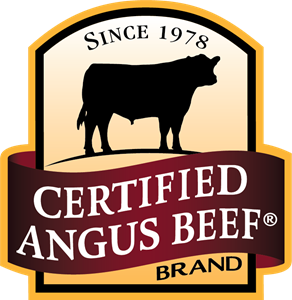 Certified angus logo eps. Beef vector banner transparent library