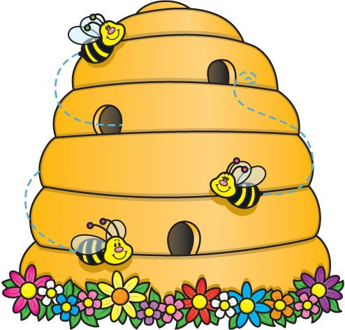 Beehive clipart beehive shape. Best bees images