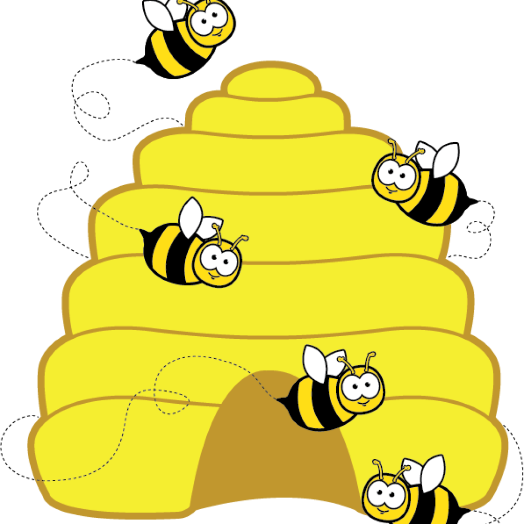 Beehive clipart summer. Bird hatenylo com home