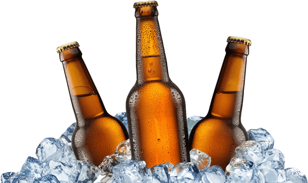 Beer bottle png. Old stump bottles on