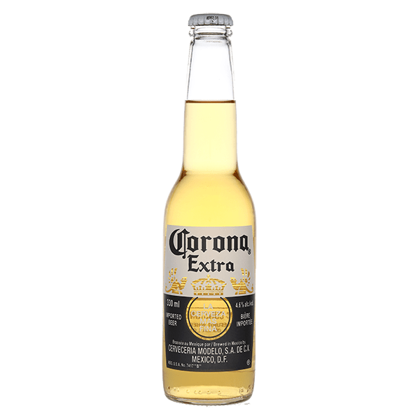 Corona transparent beer
