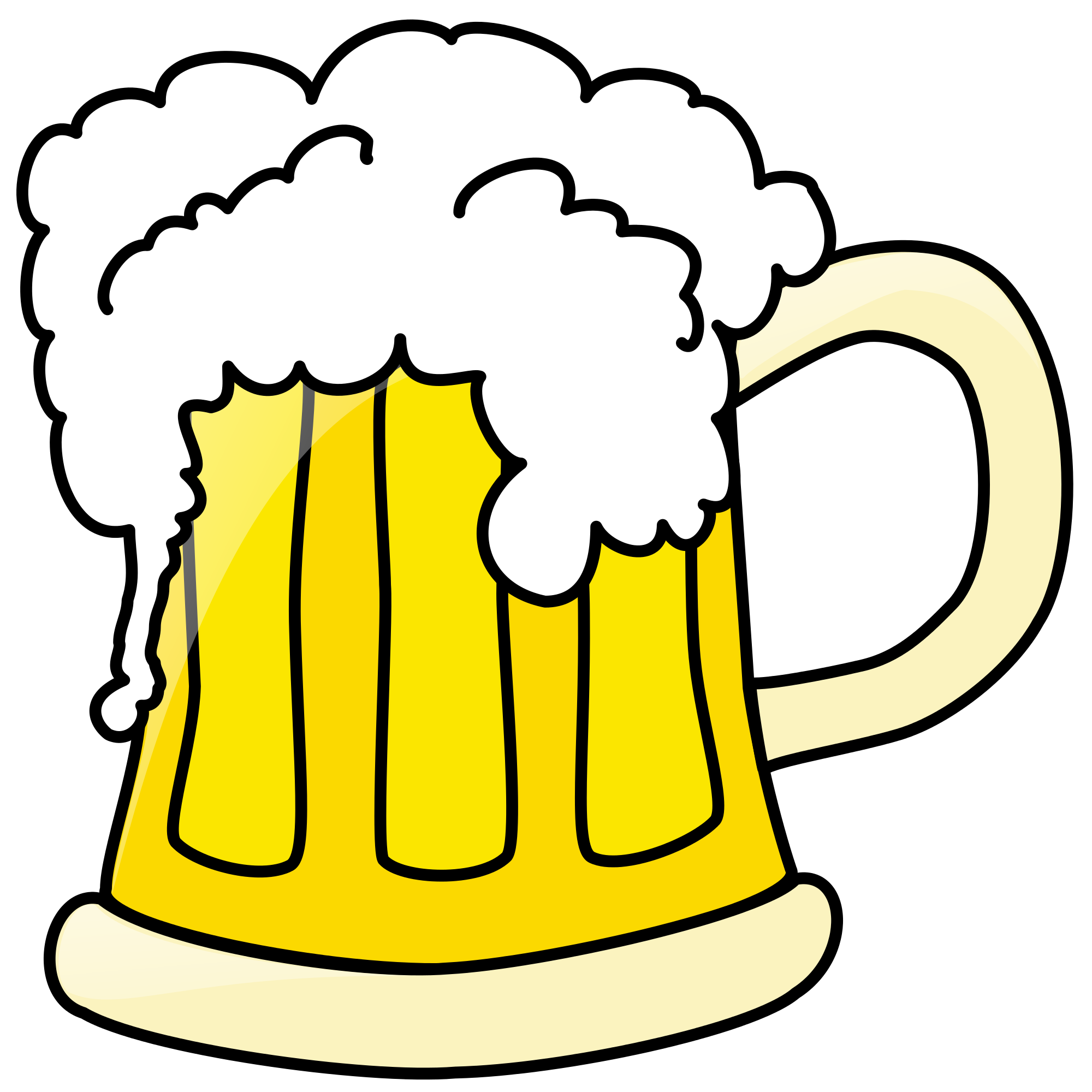 Beer clip alcohol. File mug svg wikimedia
