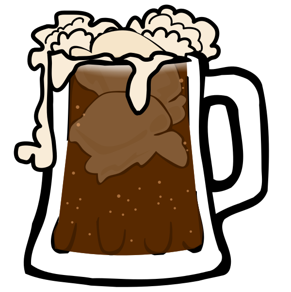 Beer clip animated. Root float clipart