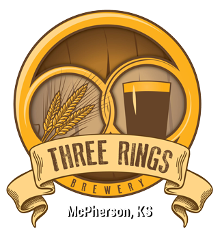 Beer clip brewery. Three rings mcpherson ks