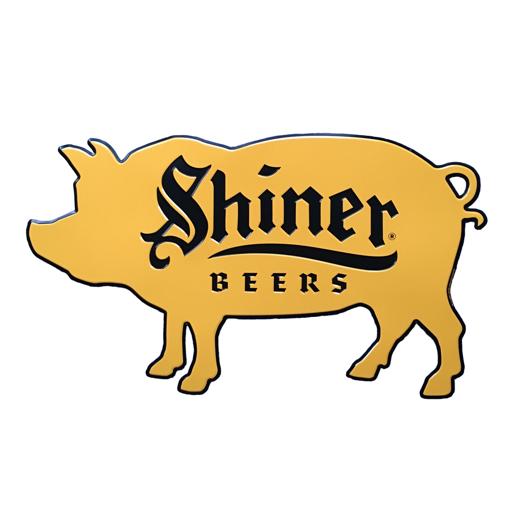 Beer clip domestic. Shiner beers pork bbq