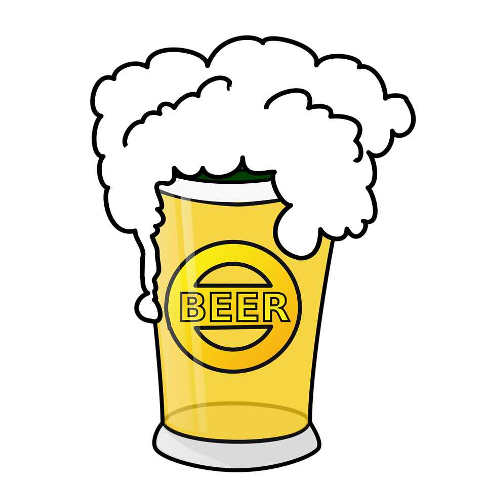 Free stock photo of. Transparent beer illustration banner stock